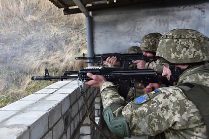 Украина назвала военные учение в Донбассе отработкой прорыва врага