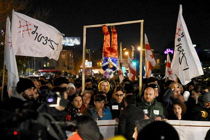 Протестующие в Грузии заявили о достижении цели