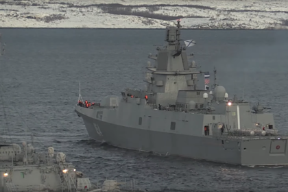 «Адмирала Горшкова» заметили с «абсолютным оружием»