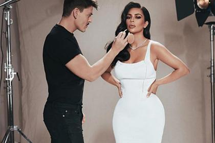 Ким Кардашьян отказалась от откровенных фото