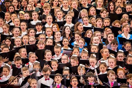 В Москве наградили лучших певцов хором