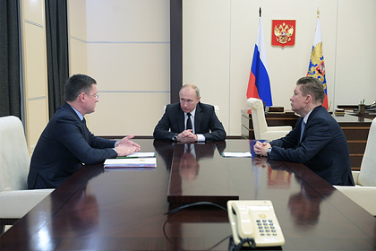 В Кремле обсудили газовое будущее России и Украины