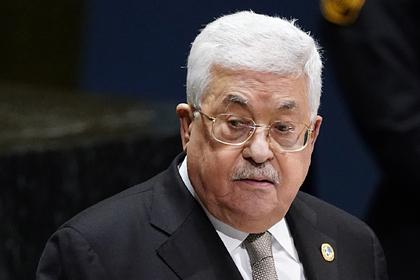 Палестина приготовилась разорвать отношения с США