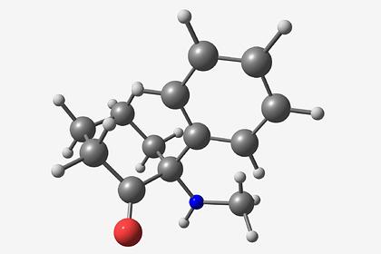 Молекула кетамина