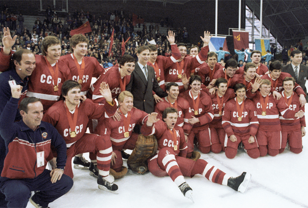 Сборная СССР по хоккею, 1984 год