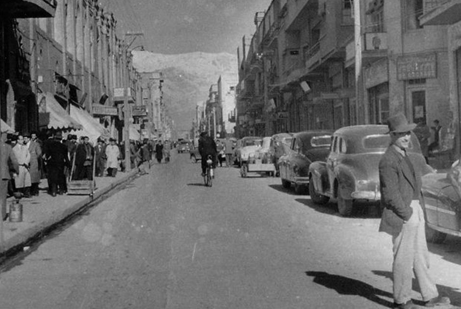 Тегеран 40-х годов
