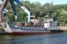 """Корабль Д-305 проекта 1176 «Акула» был спущен на воду в 1979 году. Данные о том, когда он перешел в собственность Украины, разнятся. Свое нынешнее название получил в 1998 году. Стандартное водоизмещение — 90 тонн, длина — 24 метра, ширина — 6метров. Может перевозить танк Т-72. Из вооружения оснащен навигационной РЛС.  <br></br> В 2015 году катер ушел на капитальный ремонт. Сейчас он числится как сухогрузная баржа. В 2019-м <a href=""""https://armyinform.com.ua/2019/08/svatove-onovlyat-na-93/"""" target=""""_blank"""">стало известно</a>, что на «Сватово» заменят 93 процента конструкций корпуса и наружной обшивки, из дока он должен выйти в 2020 году."""
