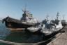 """Боевые корабли, ставшие предметом международного скандала после инцидента в Керченском проливе в 2018 году, относятся к классу речных бронекатеров проекта 58150 «Гюрза-М». Разрабатывались на Украине. Стандартное водоизмещение — 20 тонн, длина— 20,7 метра, ширина — 4,85 метра. На вооружении имеют два боевых модуля артиллерийской системы «Катран-М» и управляемые ракеты типа «Барьер» с лазерной системой наведения и переносные зенитно-ракетные системы. <br></br> Первые катера серии были заложены на предприятии Порошенко— заводе «Кузница на Рыбальском» в 2004 году, они создавались для береговой охраны Узбекистана при финансировании США. Корабли для ВМС Украины начали строить только в 2012 году, однако в декабре 2013-го работы заморозили почти на полгода из-за недостатка финансирования. Изначально проект «Гюрза-М» хотели ввести в строй в 2016 году, однако катера провалили испытания. Первый катер был готов в 2017 году. Сейчас украинские военные располагают шестью подобными кораблями, к 2020 году их количество планируется увеличить до 18. <br></br> Однако заместитель начальника штаба ВМС Украины по евроинтеграции, капитан первого ранга Андрей Рыженко <a href=""""https://topwar.ru/163905-na-ukraine-raskritikovali-osnovu-moskitnogo-flota-bronekatera-gjurza-m.html"""" target=""""_blank"""">считает</a>, что катера «Гюрза-М» не удовлетворяют требованиям флота: их можно применять только на реках и в акватории Азовского моря, причем при волнении не сильнее трех баллов. Броня же только увеличивает стоимость и вес кораблей, но в условиях морского боя будет бесполезна."""