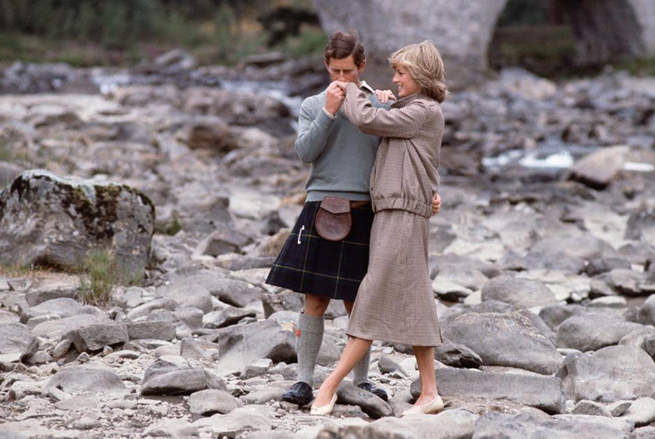 Чарльз и Диана Спенсер, 1981 год