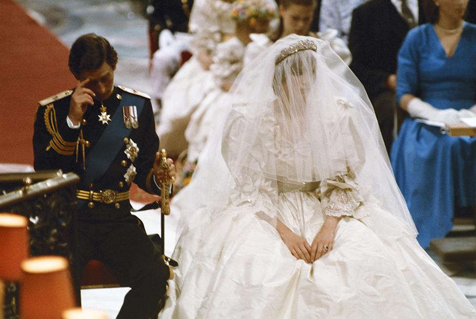 Свадьба Чарльза и Дианы, июль 1981 года