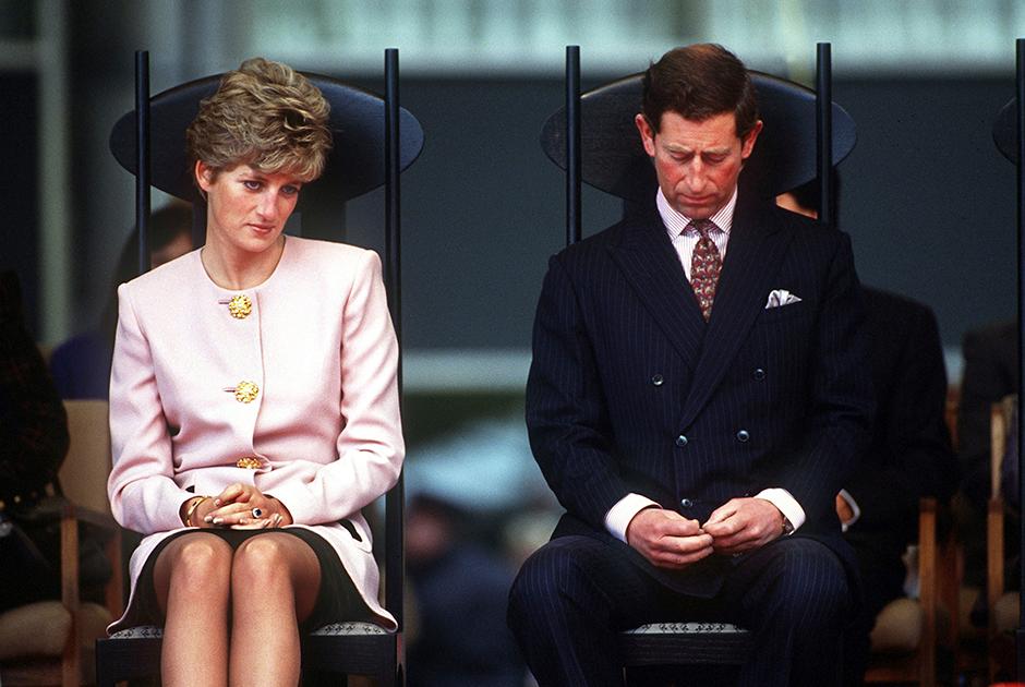 Диана и Чарльз в канадском Торонто, 1991 год