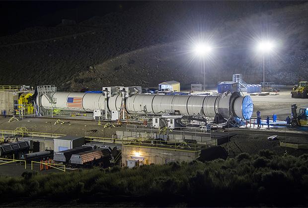 Боковой ускоритель ракеты-носителя SLS