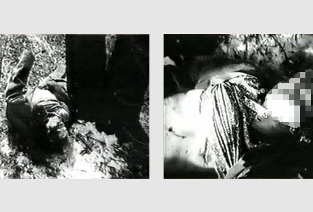 Одна из жертв Андрея Чикатило, найденная в парке Авиаторов
