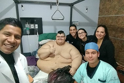 Самый толстый человек в мире похудел и остался с 95 килограммами лишней кожи