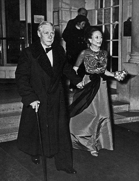 Эдуард и Уоллис Симпсон в 1965 году.
