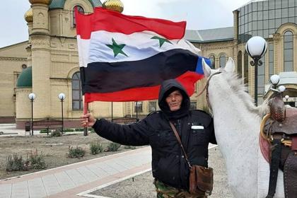 Сириец скачет вМоскву накобыле, которую хочет подарить Путину