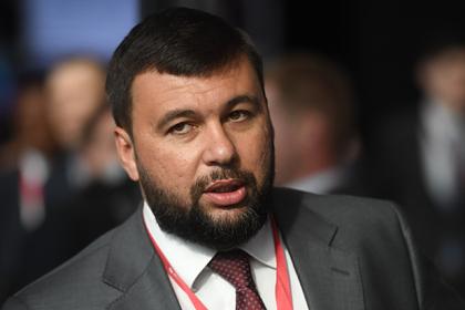 Денис Пушилин Фото: Илья Питалев / РИА Новости