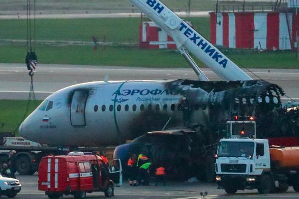 Оценен ущерб от крушения SSJ-100