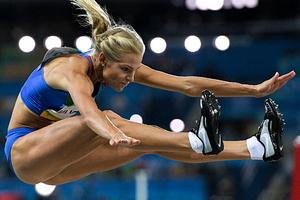 Российская прыгунья Дарья Клишина