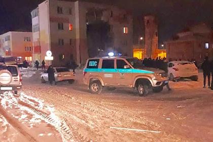 В России после взрыва в жилом доме рухнула стена