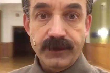 Певцов объяснился за образ Сталина