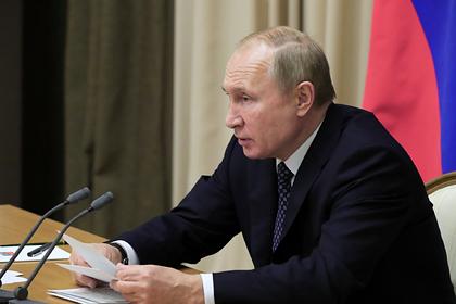 Путин отверг условия Киева по продолжению транзита газа
