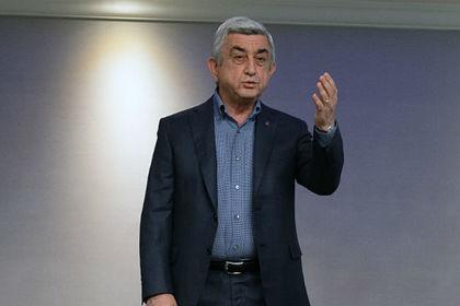 Бывшего президента Армении обвинили в хищении госсредств