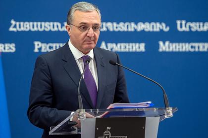 Армения заявила о необходимости включить Карабах в переговоры о мире