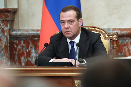 Началось итоговое интервью Дмитрия Медведева