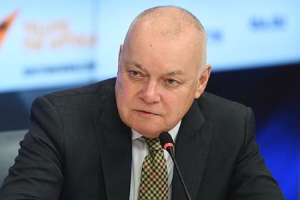 Дмитрий Киселев увидел противоречие между РПЦ и богом