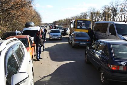 Украина пригрозила отгородиться от Донбасса стеной