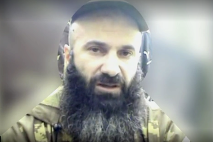 Обнародованы кадры с убитым соратником Басаева