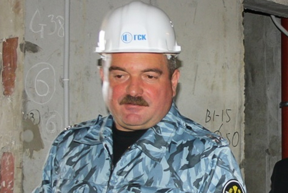 Бывший замначальника петербургского управления ФСИН Сергей Мойсеенко