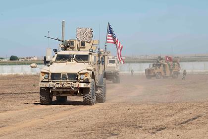 Неизвестные атаковали американскую базу в Сирии