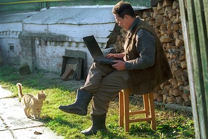 В российские села проведут интернет