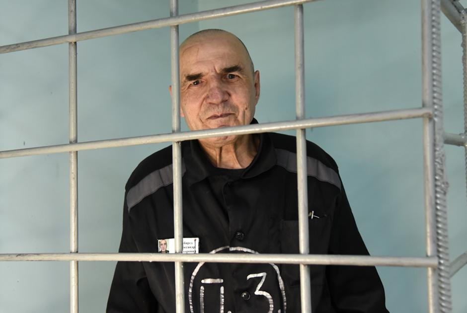 Пожизненно осужденный Александр Зубарев (шесть убийств)