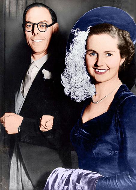 Свадьба Маргарет Робертс и Дениса Тэтчера, 13 декабря 1951 года