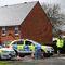 Полицейские у дома Сергея Скрипала в Солсбери, Великобритания, 3 апреля 2018 года