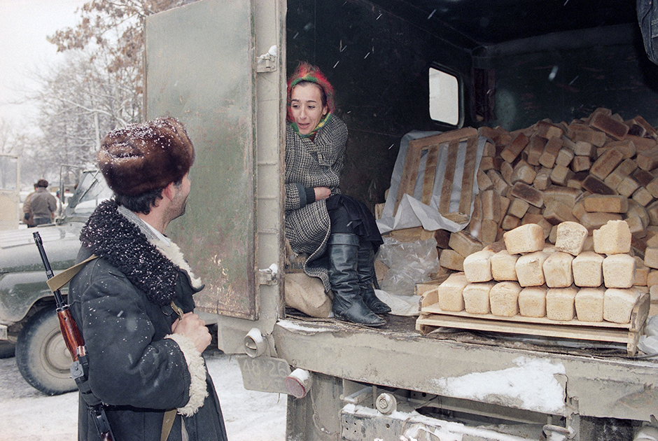 В Грозном. 3 декабря 1994 года