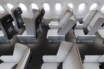 Придуман способ сделать места в экономклассе самолета комфортными
