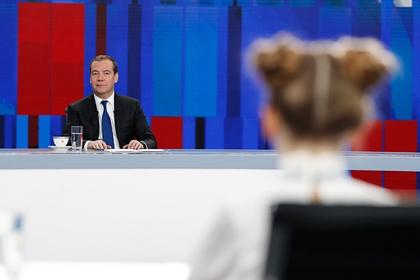 В правительстве объяснили появление Ивлеевой на интервью с Медведевым