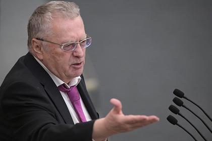 Жириновский объявил россиян людьми второго сорта для Запада