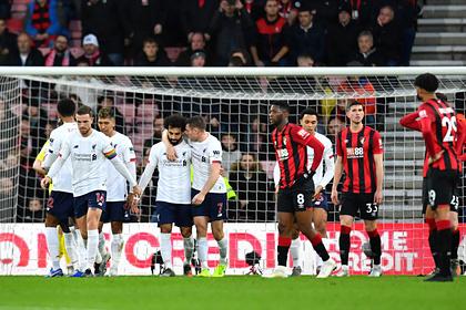 «Ливерпуль» выиграл седьмой матч подряд в АПЛ