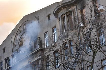 Траур по жертвам крупного пожара в Одессе объявлен на Украине