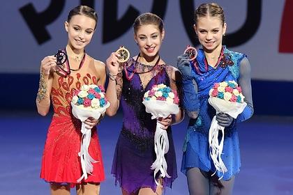 Косторная, Щербакова и Трусова победили в финале Гран-при. Загитова — осталась без медали