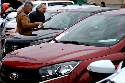 Названы самые продаваемые в России автомобили