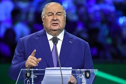 Усманов заступился за «чистых» российских атлетов перед WADA