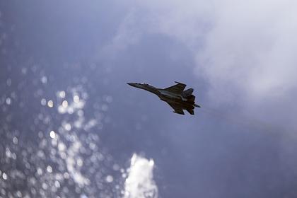 Российские Су-35 перехватили израильские истребители