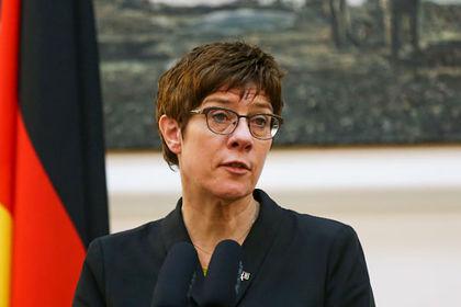 Убийство боевика: преемница Меркель призвала кновым мерам против Российской Федерации