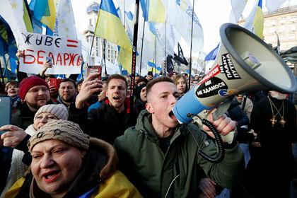 Украинские националисты призвали начать полноценную войну с Россией